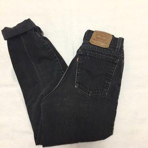 Vintage Levi 512 mom jeans